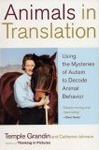 Cover art, Animals in Translation